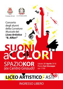 Concerto Liceo Artistico Curvatura musicale 21 aprile 2018